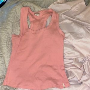 Brandy Melville Tops - baby pink cropped brandy tank